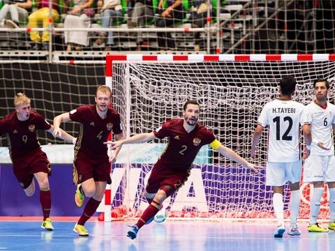 Чемпионат мира по мини-футболу. Россия — Иран