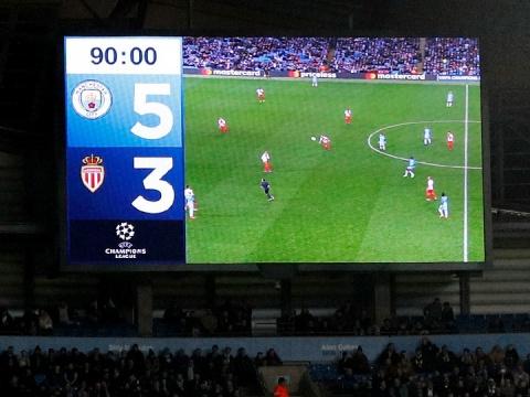 «Манчестер Сити» – «Монако» – 5:3