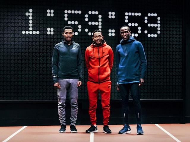Nike Breaking2. Марафон за два часа