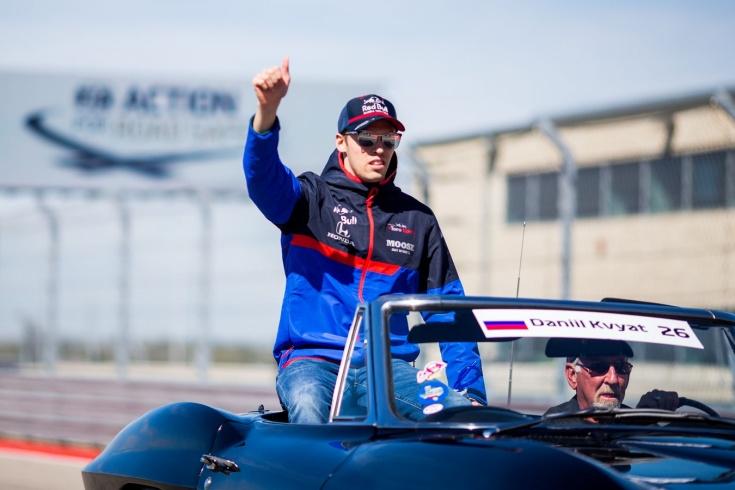 Даниил Квят оштрафован вторую гонку подряд