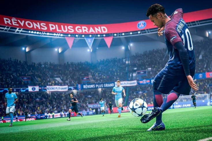 Выход футбольного симулятора FIFA 20