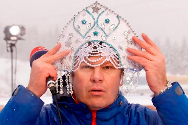 Губерниев назвал российский биатлон цирком