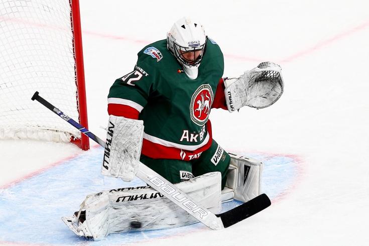 Тимур Билялов установил рекорд КХЛ по продолжительности сухой серии