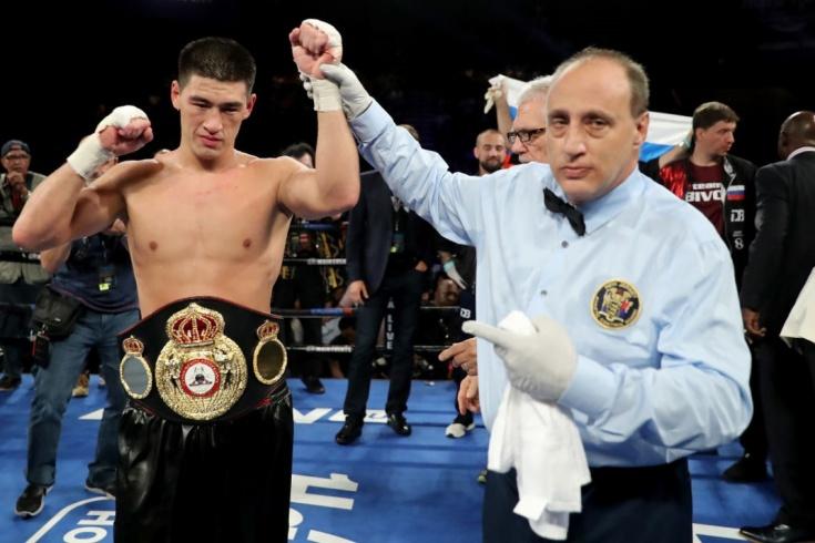 Дмитрий Бивол, чемпион мира по версии WBA