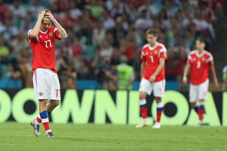 Daily Mail: Россию могут лишить домашних матчей Ев