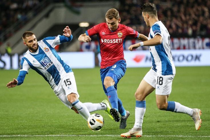 «Эспаньол» — ЦСКА, 12 декабря 2019, прогноз и ставка на матч Лиги Европы