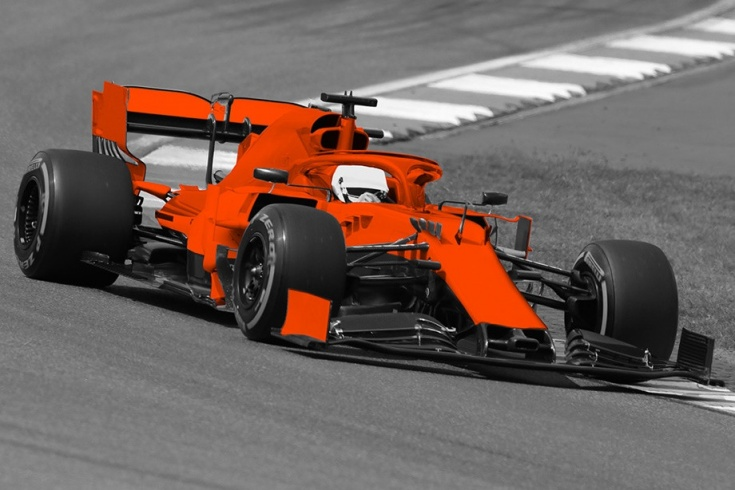 Узнаете ли вы машины Формулы-1 без раскраски? Тест