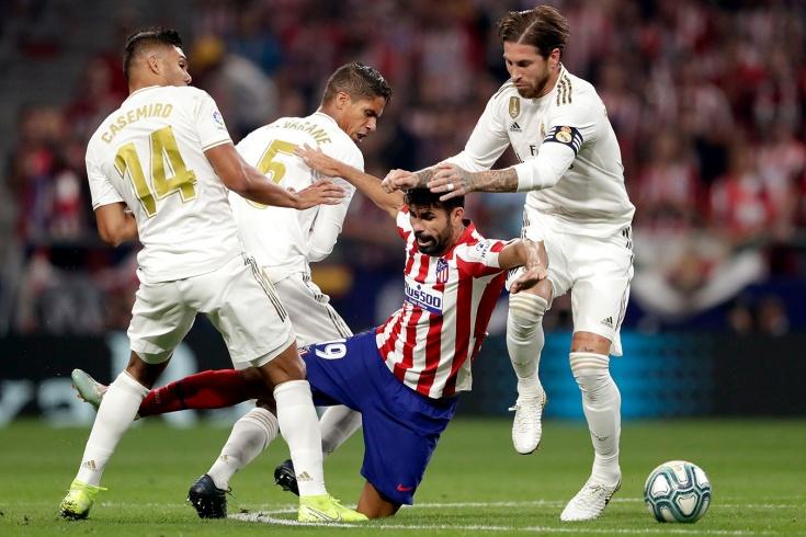 «Атлетико» — «Реал» — 0:0, 28 сентября 2019 года, разбор матча