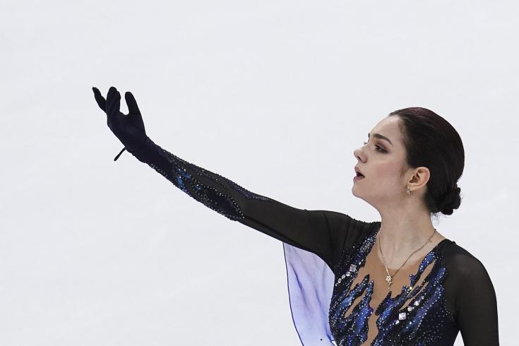 Фигуристка Косторная значительно превзошла мировой рекорд на чемпионате России