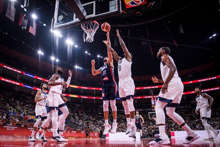 Чемпионат мира по баскетболу — 2019, Франция разнесла США в четвертьфинале