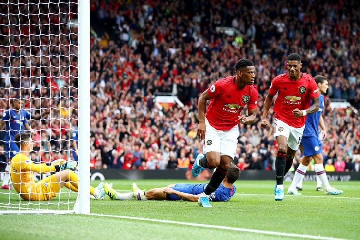 Манчестер юнайтед челси запись матча 5 тур