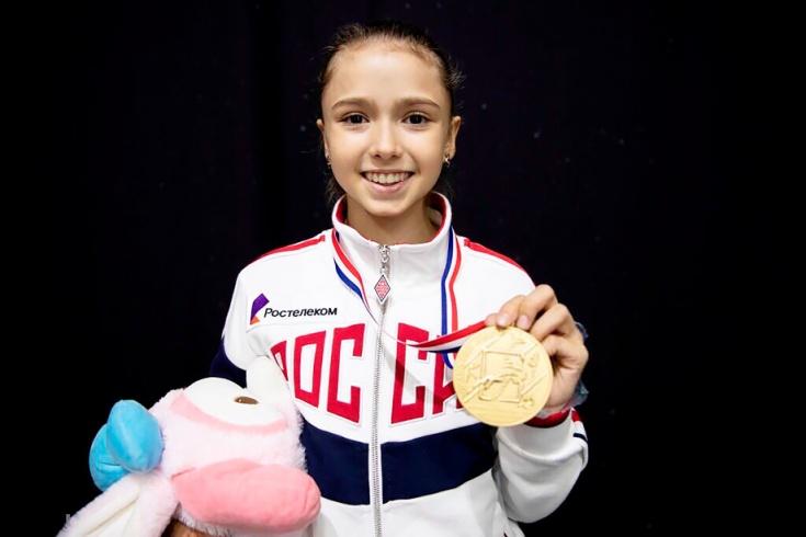 Фигуристка Валиева получила максимальный балл за четверной прыжок