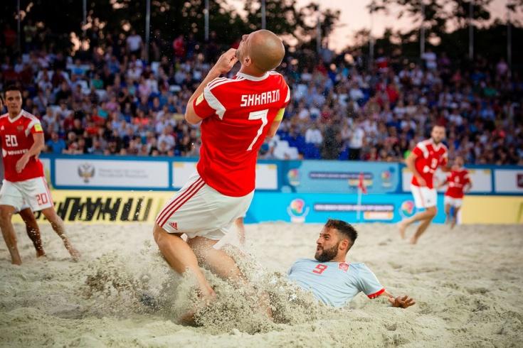 Сборная России по пляжному футболу, Антон Шкарин
