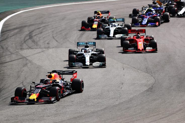 Ферстаппен выиграл Гран-при Бразилии