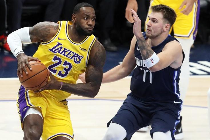 Защитник «Далласа» Лука Дончич оформил 4 рекорда НБА в одном матче