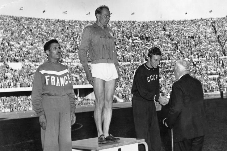 Эмиль Затопек был удивительным чемпионом