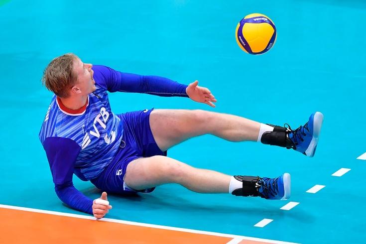 Российские волейболисты сенсационно проиграли Авст
