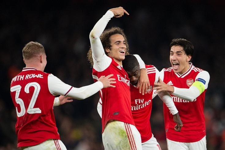 «Арсенал» — «Витория Гимарайнш» — 3:2