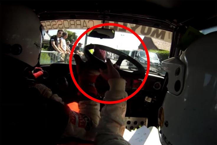 Забавное видео про гонки