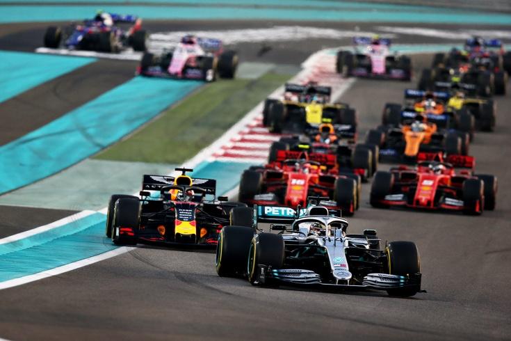 Хэмилтон выиграл Гран-при Абу-Даби