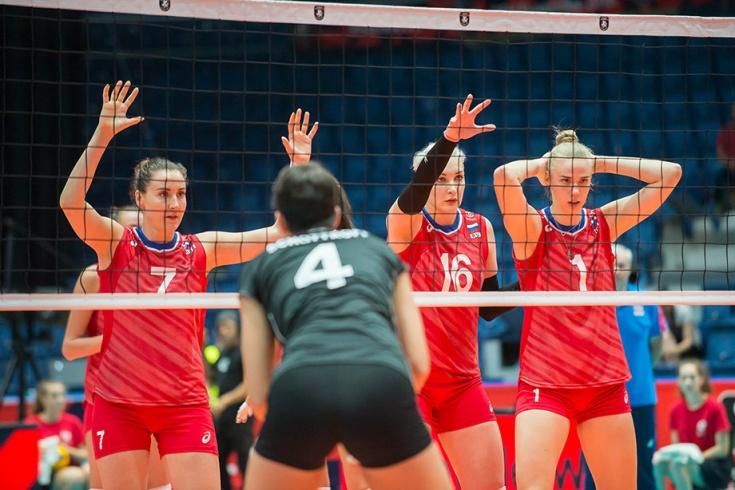 Россия – Германия – 2:3, отчёт о матче