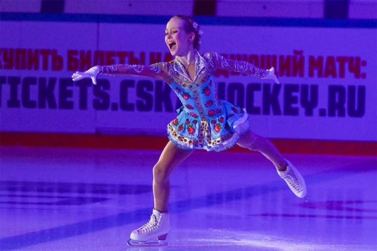 11-летняя Берестовская прыгнула четверной