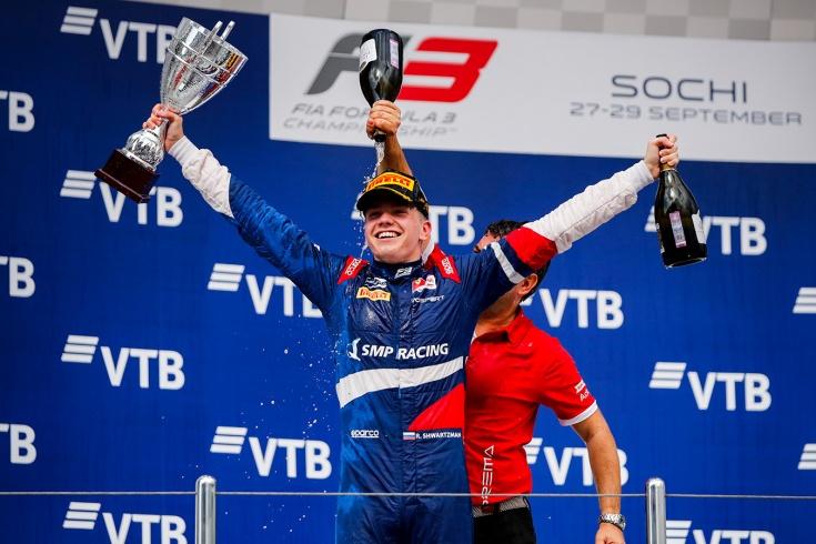 Роберт Шварцман – чемпион Формулы-3, интервью о победе, Шумахере, Формуле-2