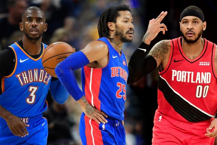 Главные события игрового дня в НБА, 8 января 2020 года, Кармело, Роуз, Пол