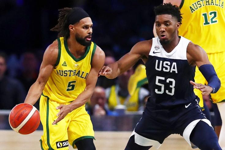 Австралия сенсационно обыграла США в баскетбол