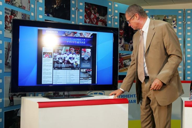 1 октября 2009 года начал вещание «КХЛ ТВ»