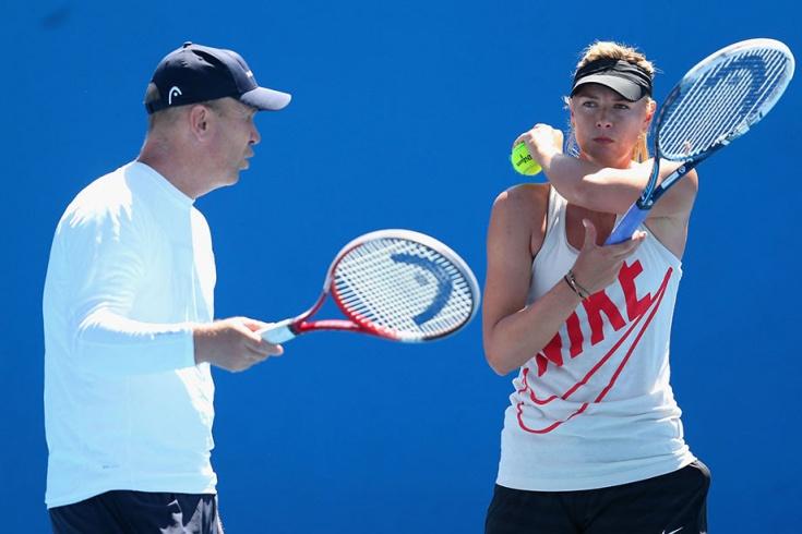 Мария Шарапова может расстаться со своим тренером