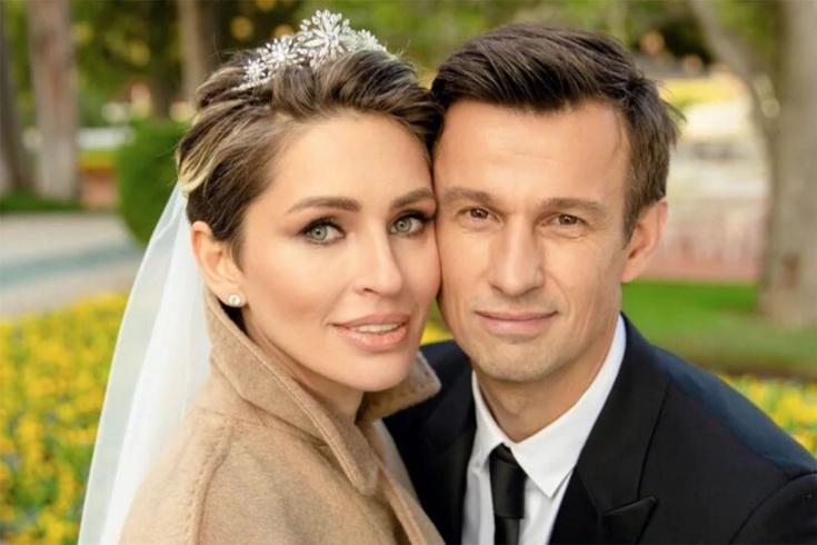 Сергей Семак с женой