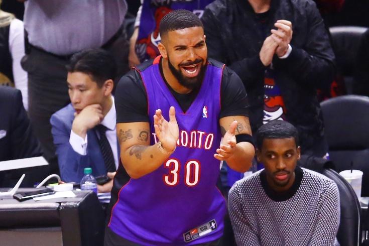 Дальний бросок рэпера Дрейка не хуже, чем у баскетболистов НБА