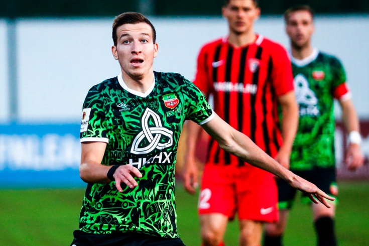 Лучший игрок августа в ФНЛ Денис Макаров