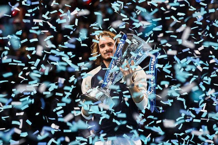 Стефанос Циципас одолел Доминика Тима и стал чемпионом в Лондоне