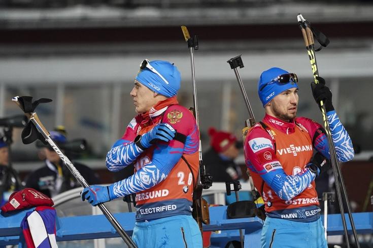 Промах Логинова оставил сборную России по биатлону без медали в эстафете