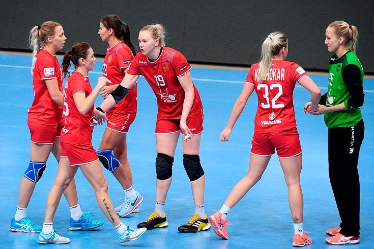 Женская сборная России по гандболу в отборе к Евро