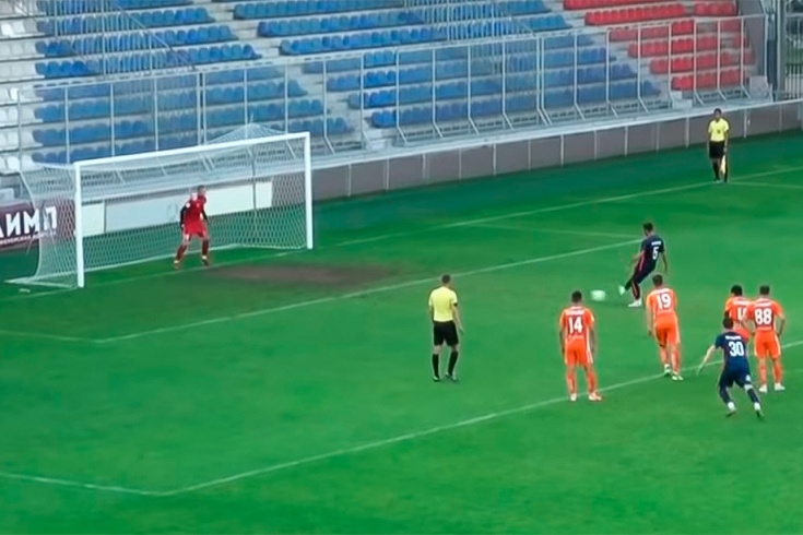 Игрок «Балтики» специально не забил пенальти
