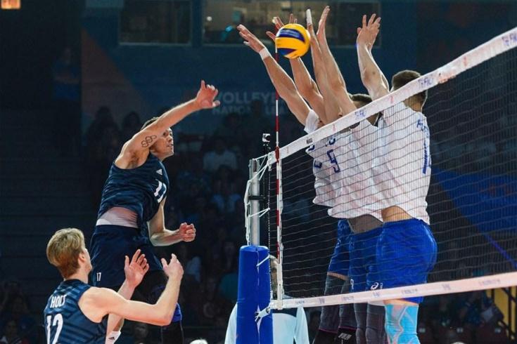 Россия проиграла США в Лиге наций 2019 со счётом 0:3, отчёт о матче