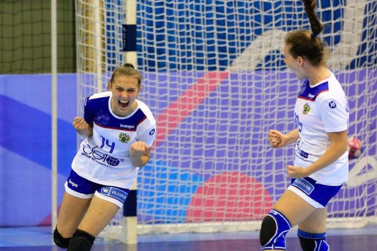 Россия вышла в полуфинал молодёжного ЧЕ, гандбол