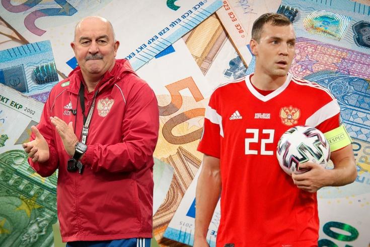 Штрафы в сборной России
