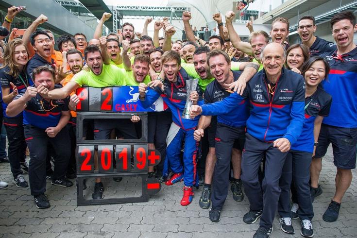 Итоги сезона для россиянина Даниила Квята и команды Формулы-1 «Торо Россо»