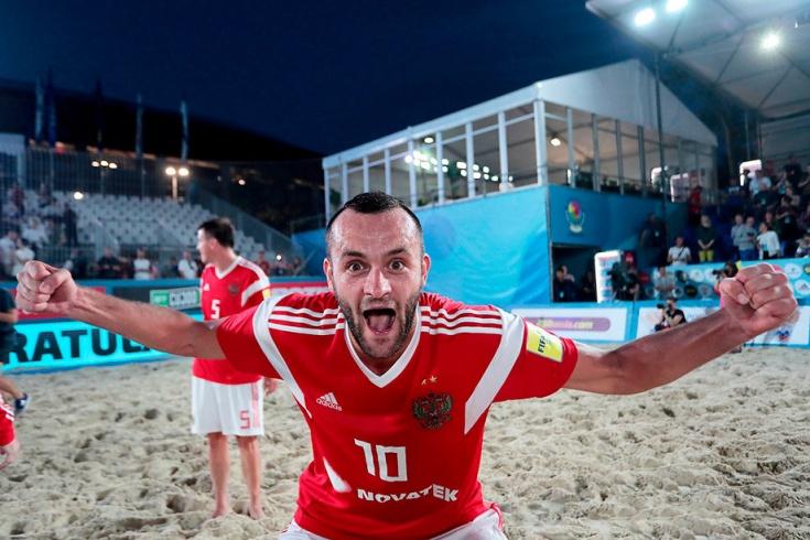 Пляжный футбол, Россия уничтожила Италию