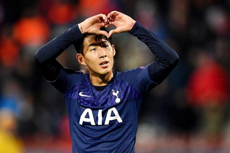 «Црвена Звезда» — «Тоттенхэм» — 0:4, Сон Хын Мин