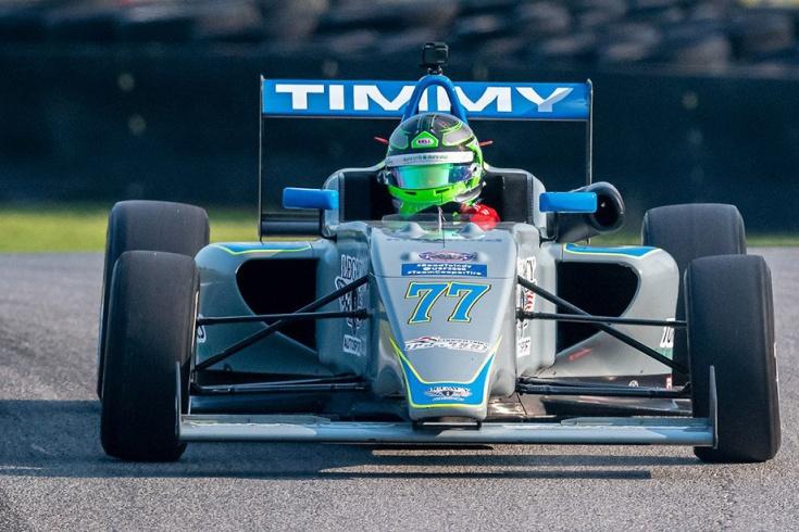Тимми Пальюзо дебютировал в гонках