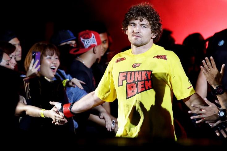 Бой Бен Аскрен — Демиан Майя на UFC Singapore 26 октября 2019