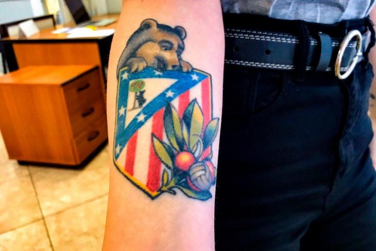 Дарья Матросова. Девушка с татуировкой «Атлетико»