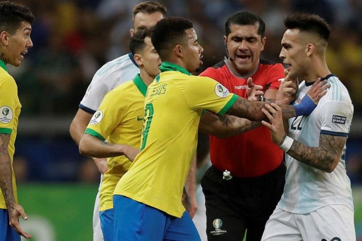 Бразилия – Аргентина – 2:0. Кубок Америки