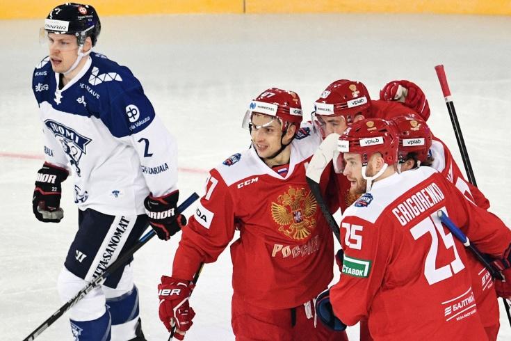 Россия – Финляндия – 2:0, обзор матча Кубка Первого канала, 2019