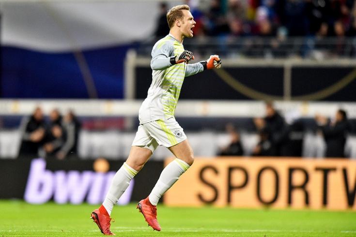Германия — Россия — 3:0, 15 ноября 2018